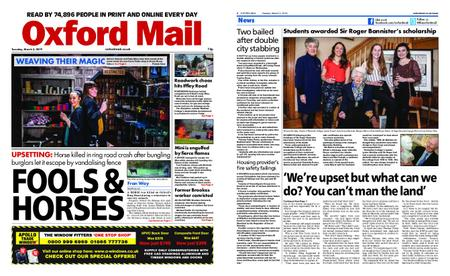 Oxford Mail – March 05, 2019