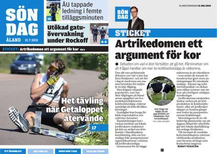 Ålandstidningen – 21 juli 2019