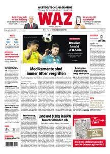 WAZ Westdeutsche Allgemeine Zeitung Oberhausen-Sterkrade - 28. März 2018