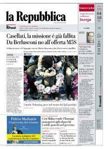 la Repubblica - 19 Aprile 2018