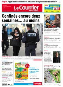 Le Courrier de l'Ouest Angers – 13 novembre 2020