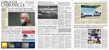 Gibraltar Chronicle – 15 December 2020