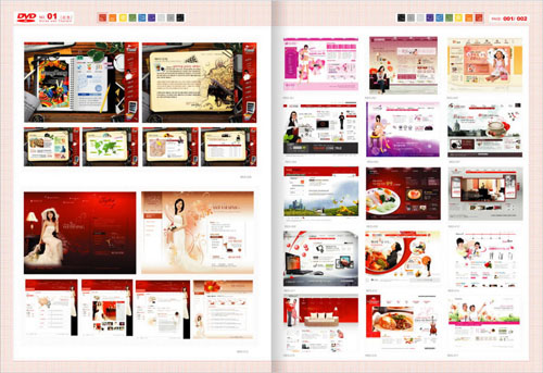 Web Design Master PSD Sources Collection (DVD 1)