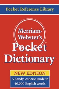 Merriam-Webster's Pocket Dictionary (Repost)