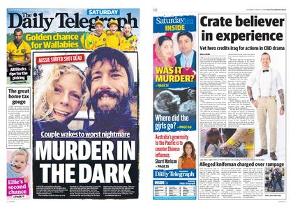 The Daily Telegraph (Sydney) – August 17, 2019
