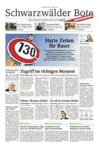 Schwarzwälder Bote Hechingen - 08. März 2018