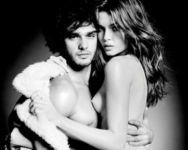 Josephine Skriver & Marlon Teixeira by Tom Munro for Lui France December 2013/January 2014