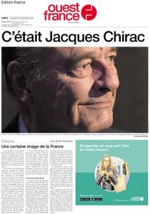 Ouest-France Édition France – 27 septembre 2019