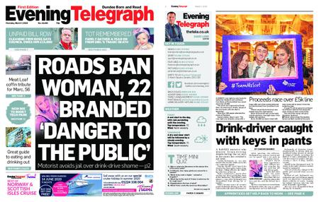 Evening Telegraph First Edition – March 07, 2019