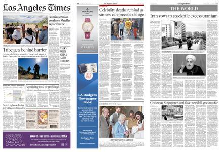 Los Angeles Times – May 09, 2019