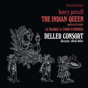 Deller Consort - Purcell: The Indian Queen (Remastered) (2019) [Official Digital Download 24/96]