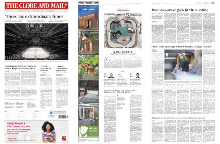 The Globe and Mail – March 13, 2020