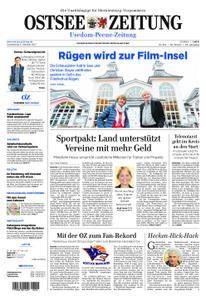Ostsee Zeitung Wolgast - 05. Oktober 2017