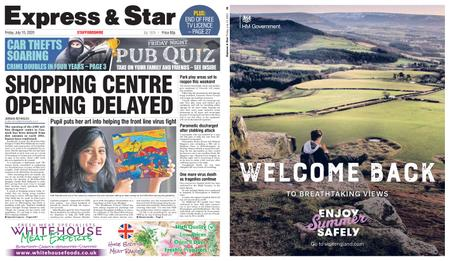 Express and Star Staffordshire Edition – July 10, 2020