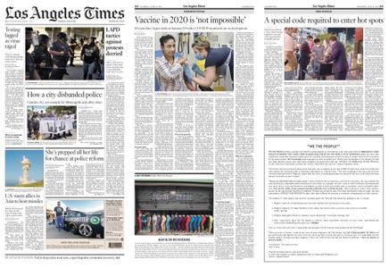 Los Angeles Times – June 11, 2020