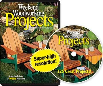 Weekend Woodworking Projects: 352 Great Projects CD-ROM