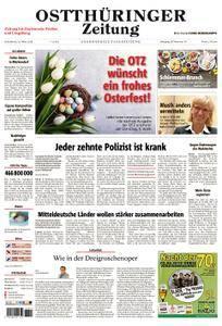 Ostthüringer Zeitung Zeulenroda - 31. März 2018