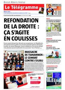 Le Télégramme Brest Abers Iroise – 04 juin 2019