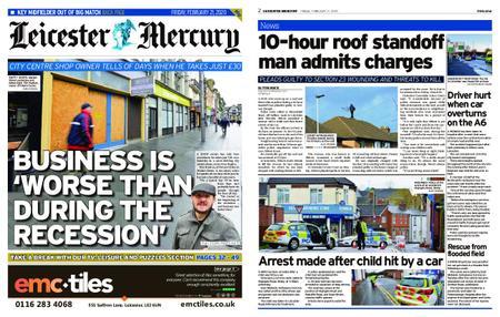 Leicester Mercury – February 21, 2020