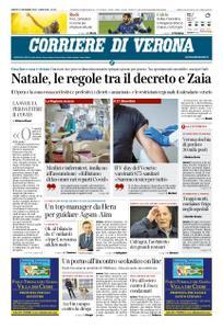 Corriere di Verona – 19 dicembre 2020