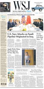 The Wall Street Journal – 29 June 2019