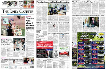 The Daily Gazette – March 10, 2018