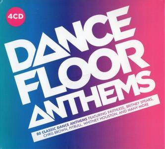 VA - Dancefloor Anthems (4CD, 2018)
