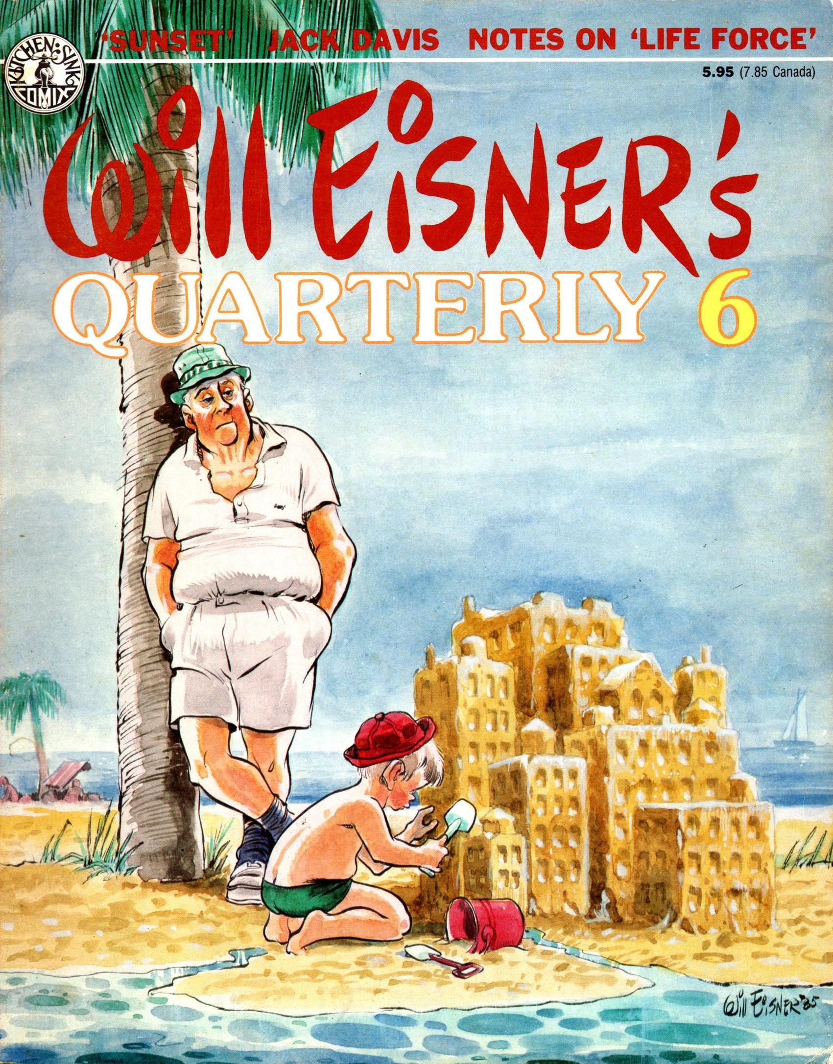 Will Eisners Quarterly 006 1985 c2c Pyramid