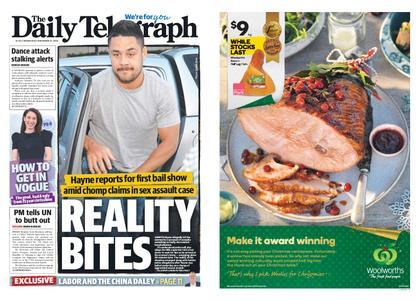 The Daily Telegraph (Sydney) – November 21, 2018