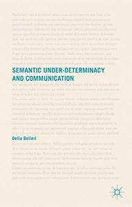 Semantic Under-determinacy and Communication(Repost)