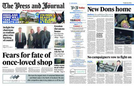 The Press and Journal Moray – January 30, 2018