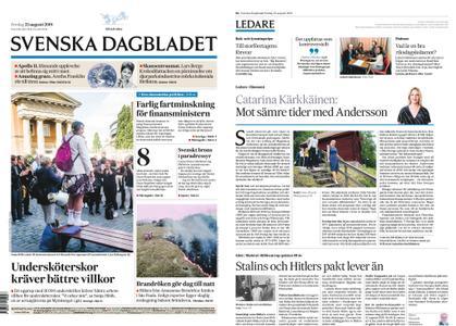 Svenska Dagbladet – 23 augusti 2019