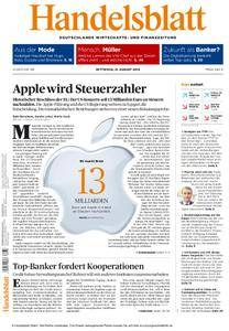 Handelsblatt - 31. August 2016