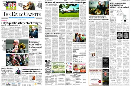 The Daily Gazette – April 03, 2019