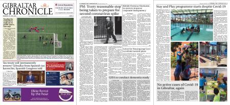 Gibraltar Chronicle – 16 July 2020