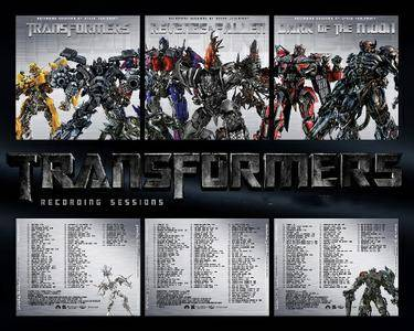 Steve Jablonsky - Transformers Recording Sessions (Score) 2007-2011