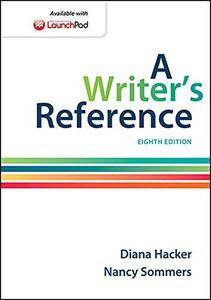 A Writer's Reference (8th edition) (Repost)