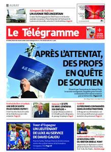 Le Télégramme Auray – 20 octobre 2020