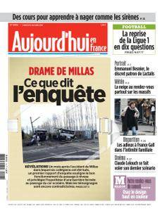 Aujourd'hui en France du Samedi 13 Janvier 2018