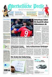 Oberhessische Presse Hinterland - 14. März 2019
