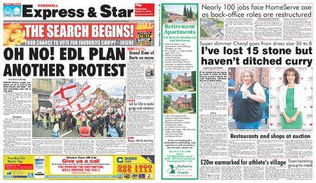 Express and Star Sandwell Edition – March 14, 2018