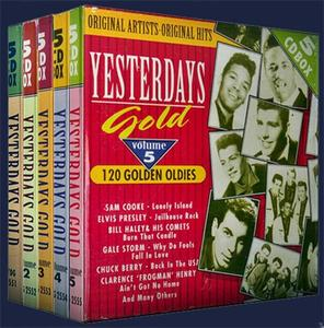 V.A. - Yesterday's Gold Collection: Golden Oldies (25CD Box Sets, 1988)