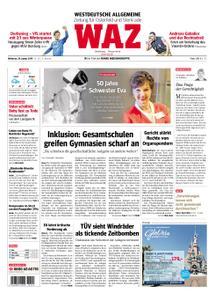 WAZ Westdeutsche Allgemeine Zeitung Oberhausen-Sterkrade - 30. Januar 2019