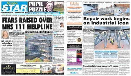 Shropshire Star Shrewsbury Edition – November 13, 2017