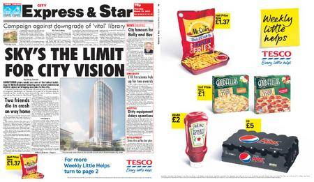 Express and Star City Edition – March 15, 2018