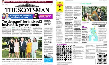 The Scotsman – April 26, 2019