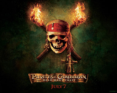Wallpapers to Pirates of the Caribbean: Dead Man's Chest movie
