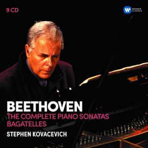 Stephen Kovacevich - Beethoven: Complete Piano Sonatas, Bagatelles (2017) (Reissue) (9CD Box Set)