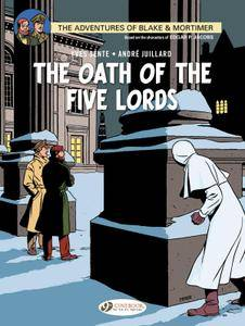 Blake  Mortimer 018 - The Oath of the Five Lords 2014 Cinebook digital