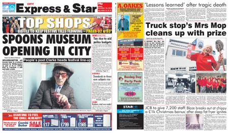 Express and Star City Edition – December 14, 2018